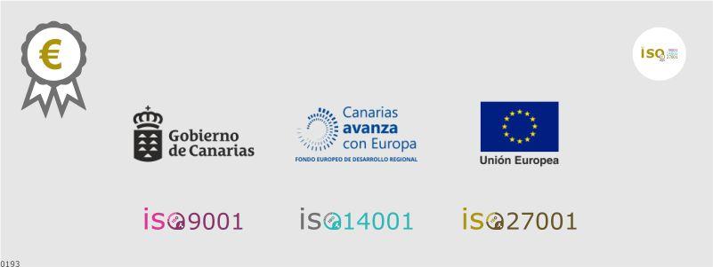 Subvención implantación ISO 9001 14001 27001 en Canarias